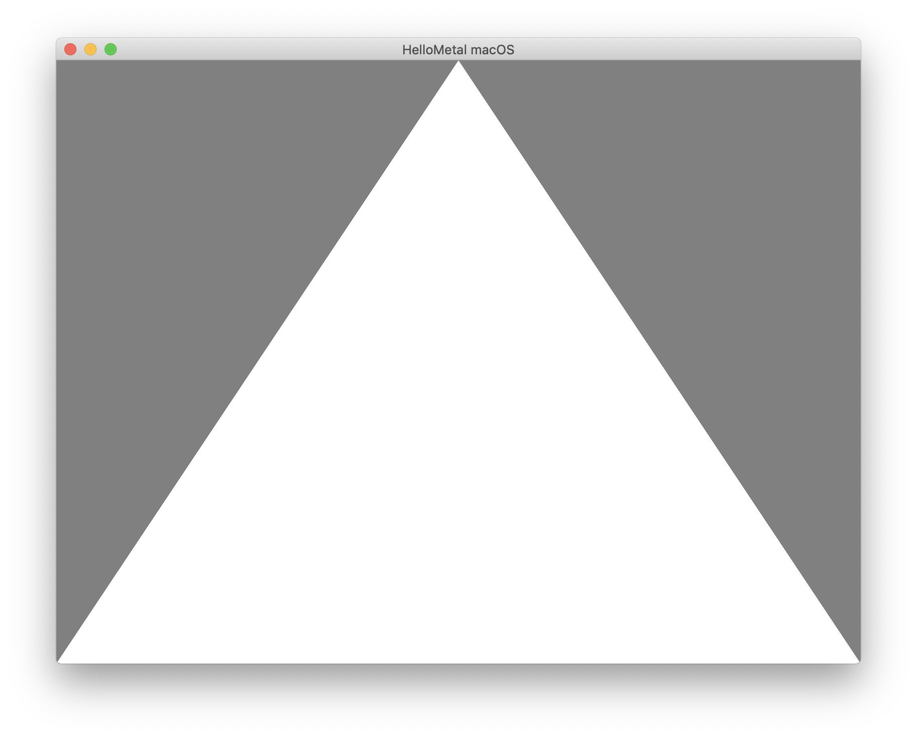 Hello Metal Triangle